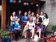 Publishing Industry Panel at La Casa Azul Bookstore Sept 2014